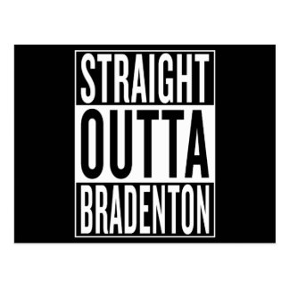 straight outta Bradenton Postcard