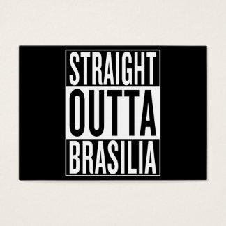 straight outta Brasilia Business Card