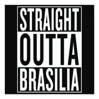 straight outta Brasilia Card