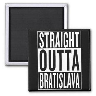 straight outta Bratislava Magnet