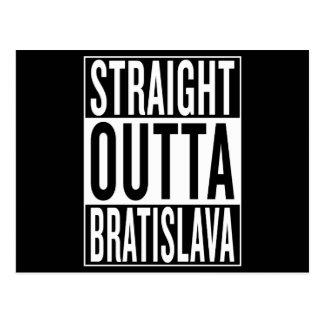 straight outta Bratislava Postcard