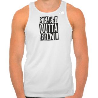 straight outta Brazil Tank Top