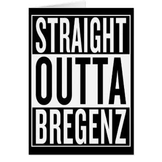 straight outta Bregenz Card