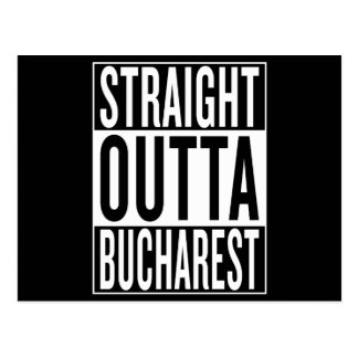 straight outta Bucharest Postcard