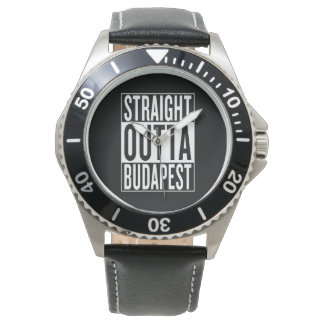 straight outta Budapest Watch