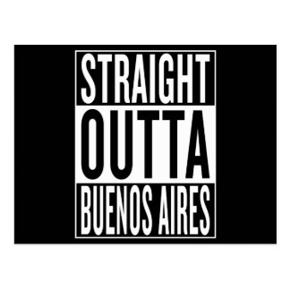 straight outta Buenos Aires Postcard
