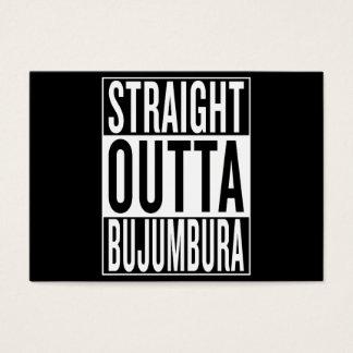 straight outta Bujumbura Business Card