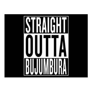 straight outta Bujumbura Postcard