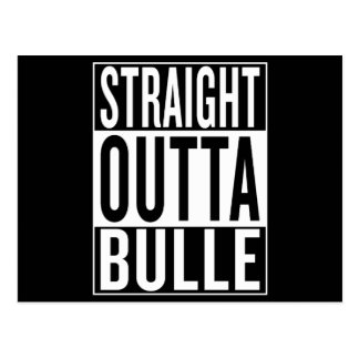 straight outta Bulle Postcard