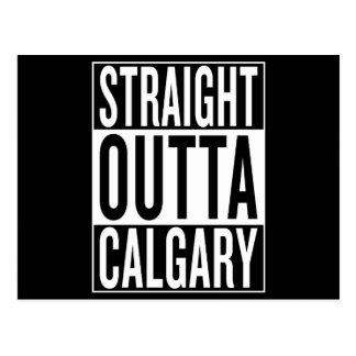straight outta Calgary Postcard