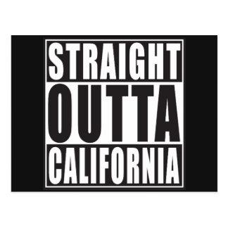Straight Outta California Postcard