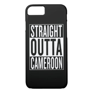 straight outta Cameroon iPhone 7 Case