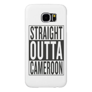 straight outta Cameroon Samsung Galaxy S6 Cases