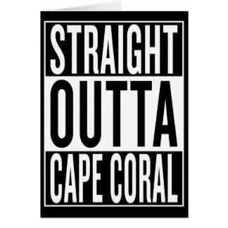 straight outta Cape Coral Card