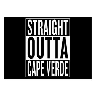 straight outta Cape Verde Large Business Card