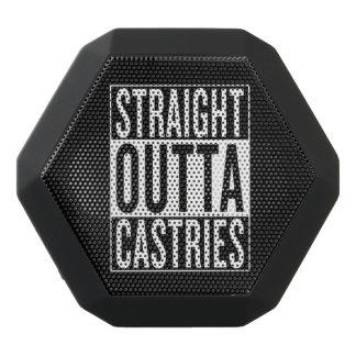straight outta Castries Black Bluetooth Speaker