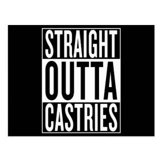 straight outta Castries Postcard
