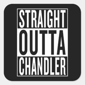straight outta Chandler Square Sticker