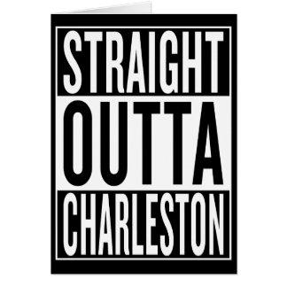 straight outta Charleston Card