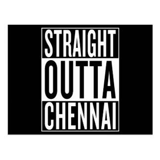 straight outta Chennai Postcard