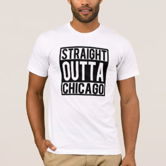 Straight Outta Chicago Men's shirt