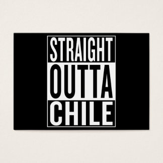 straight outta Chile Business Card