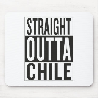 straight outta Chile Mouse Pad