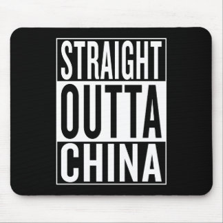 straight outta China Mouse Pad