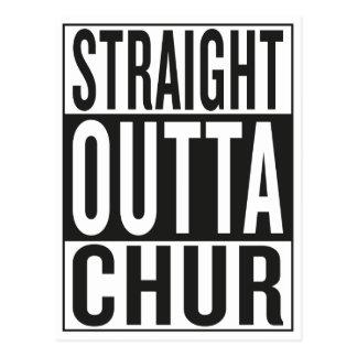 straight outta Chur Postcard