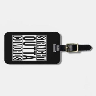 straight outta Comoros Luggage Tag