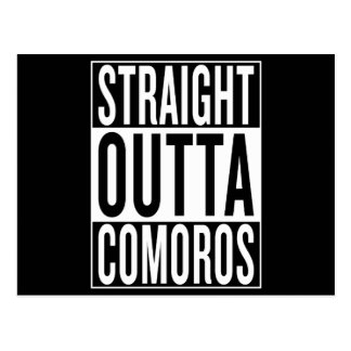 straight outta Comoros Postcard
