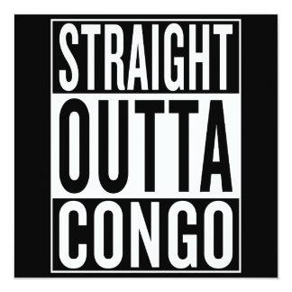 straight outta Congo Card