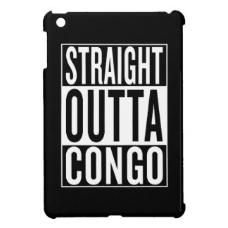straight outta Congo iPad Mini Covers