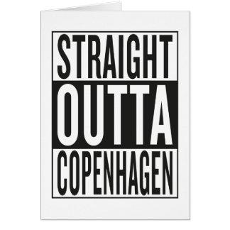 straight outta Copenhagen Card
