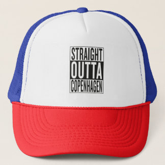 straight outta Copenhagen Trucker Hat
