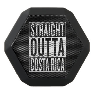straight outta Costa Rica Black Bluetooth Speaker