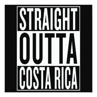 straight outta Costa Rica Card