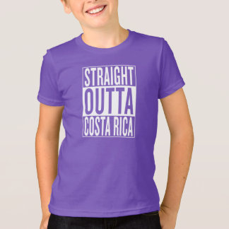 straight outta Costa Rica T-Shirt