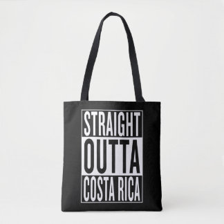 straight outta Costa Rica Tote Bag