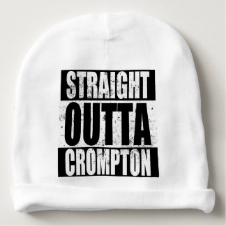 Straight Outta Crompton (Oldham) Baby Beanie
