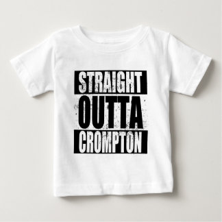 Straight Outta Crompton (Oldham) Baby T-Shirt