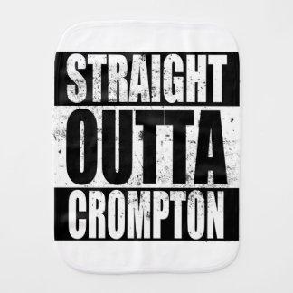 Straight Outta Crompton (Oldham) Burp Cloth