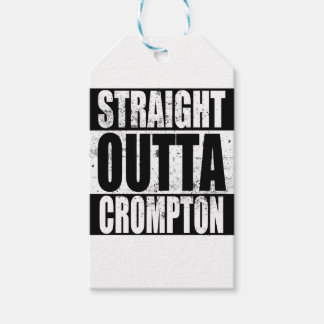 Straight Outta Crompton (Oldham) Gift Tags