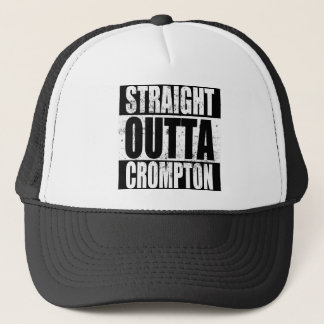 Straight Outta Crompton (Oldham) Trucker Hat