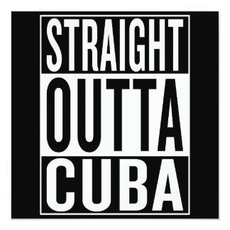 straight outta Cuba Card