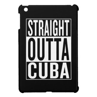 straight outta Cuba Cover For The iPad Mini