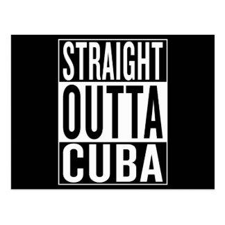 straight outta Cuba Postcard