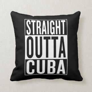 straight outta Cuba Throw Pillow