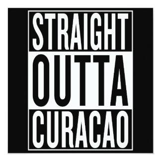 straight outta Curacao Card
