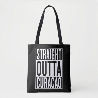 straight outta Curacao Tote Bag